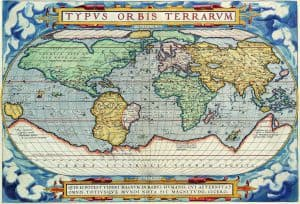Карты Тартарии - Antique Maps of the WorldMap of the WorldAbraham Orteliusc 1570