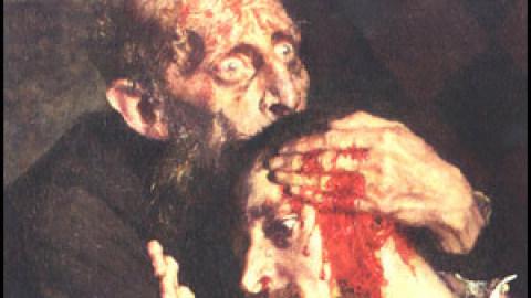 А сына-то Грозный не убивал!