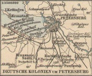 Петербург - столица немецкой колонии в Тартарии