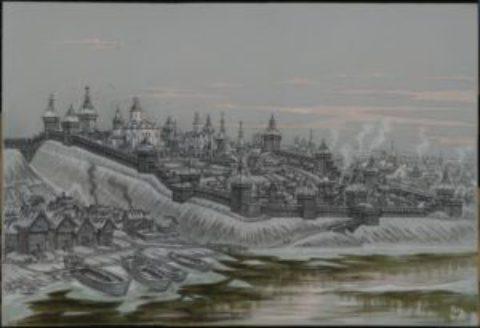 Кострома — древняя столица Руси и мерянского мира