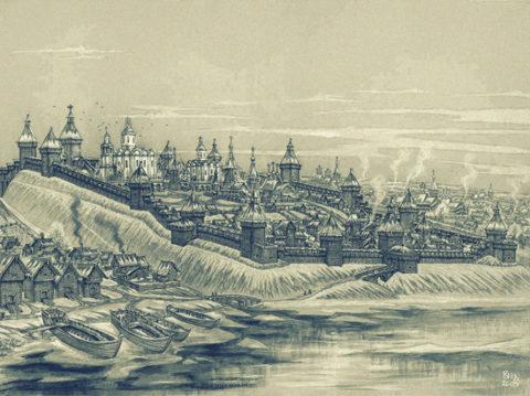 Кострома-древняя столица Руси и мерянского мира