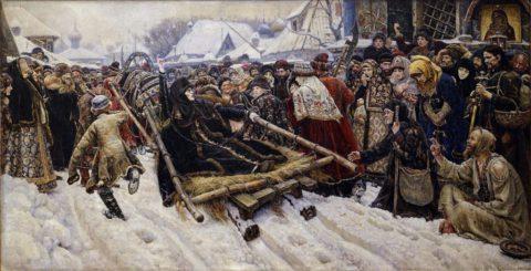 Бояре Морозовы и Кострома