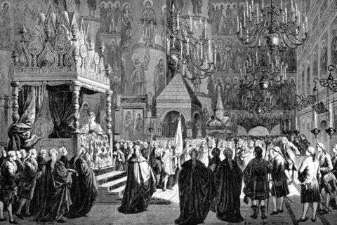 Венчание на царство и Кострома
