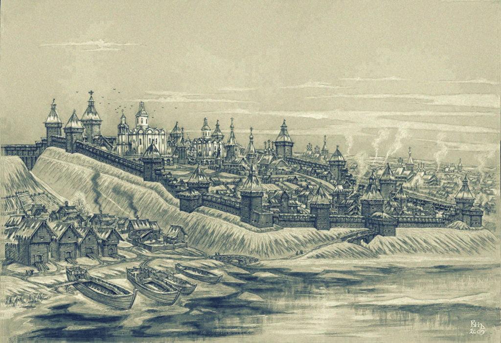 Старый город Кострома